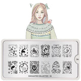 Moyou Nail Art Stamping Plate - Enchanted 06