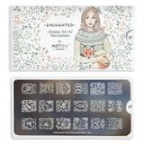 Moyou Nail Art Stamping Plate - Enchanted 07