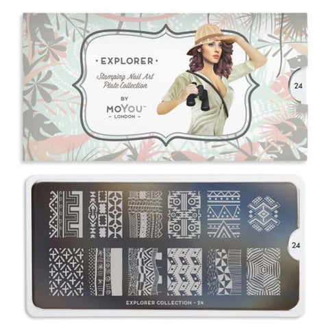 Moyou London Explorer 24 - Native Prints Palettes Large