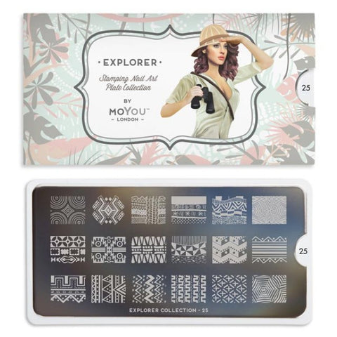 Moyou London Explorer 25 - Native Prints Palettes Small