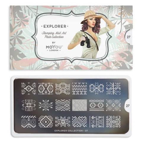 Moyou London Explorer 27 - Native Patterns Palettes Small