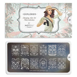 Moyou London Explorer 29 - Ornate Skulls Palettes Large