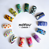 Nail Art Stamping Plate Image MoYou Fairytale Collection 6 Mermaid