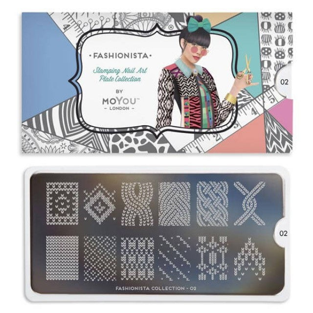 fashionista 02 sweater palettes large moyou stapming plate