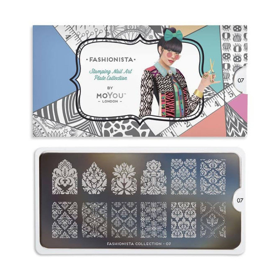 fashionista 07 baroque palettes large moyou stapming plate