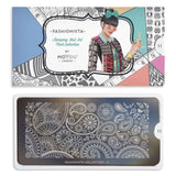 fashionista 11 Paisley Prints moyou stapming plate