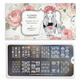 Moyou London Flower Power 02 - Retro Floral Prints Palettes Small