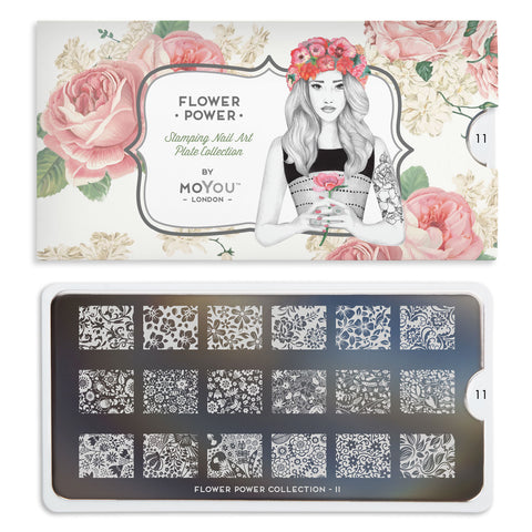 Moyou London Flower Power 11 - Wildflowers Palettes Small