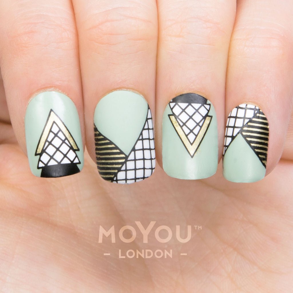 Daily charme moyou london nail art stamping plate frenchy 13 prinsesfo Images