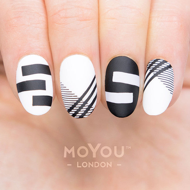 Daily charme moyou london nail art stamping plate frenchy 13 prinsesfo Gallery