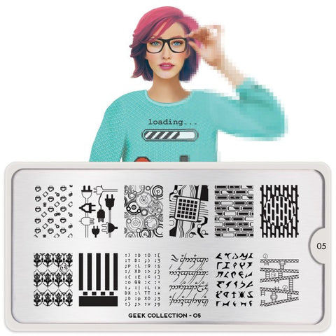 Moyou London Geek 05 - Patterns & Symbols Palettes Large