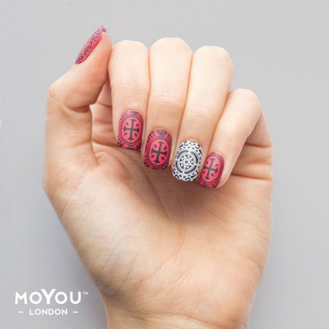 Moyou Nail Stamping Plate Gothic 13