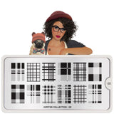 Moyou London Hipster 05 - Plaid Palettes Large