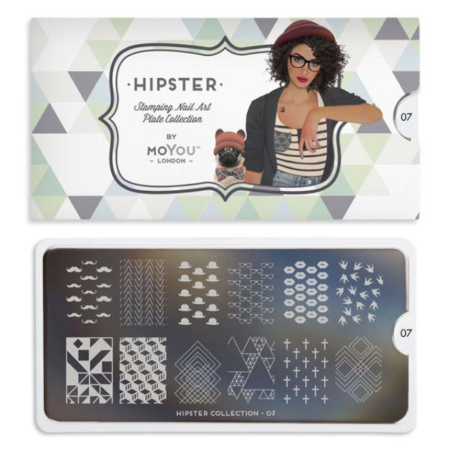 Hipster 07 - Geometric Prints Palettes Large Moyou London