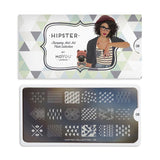 hipster 08 hippy palettes small moyou stapming plate