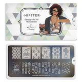 Daily Charme Moyou London Nail Art Stamping Plate / Hipster 17