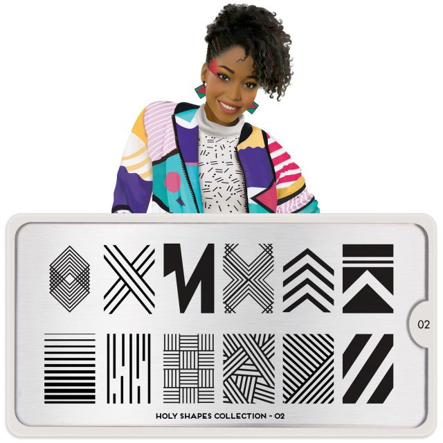 Moyou London Holy Shapes 02 - Geometric Palettes Large
