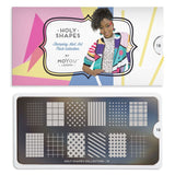 Moyou London Holy Shapes 18 - Simple Patterns Palettes Large