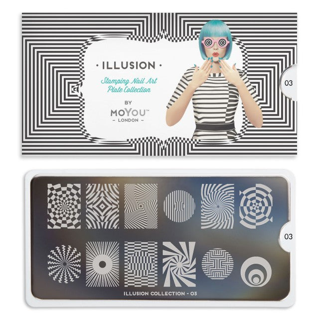 Moyou Illusion 03 - Circular Swirls Palettes Large