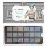Moyou London Illusion 06 - Zig Zag Palettes Small