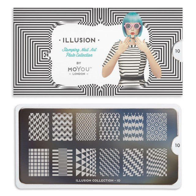 Moyou London Illusion 10 - Mystic Prints Palettes Large