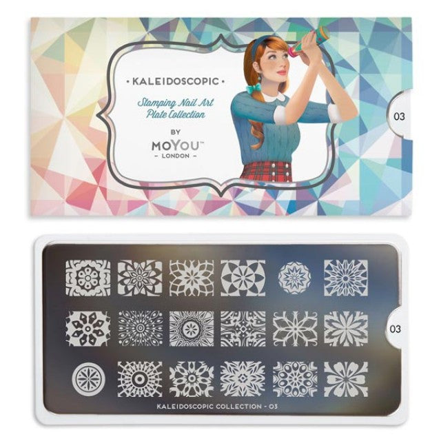 Moyou London Kaleidoscope 03 - Ornate Palettes Small