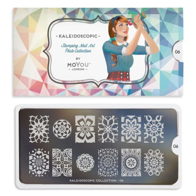 Moyou London Kaleidoscope 06 - Floral Palettes Large