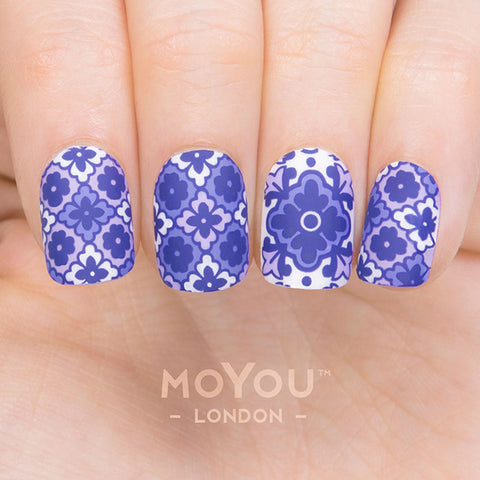 Daily Charme Moyou London Nail Art Stamping Plate / Mexico 08