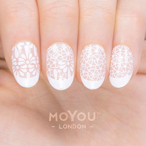 Daily Charme Moyou London Nail Art Stamping Plate / Mexico 05