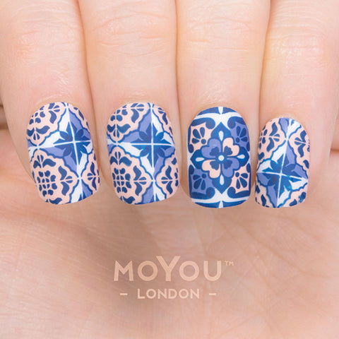 Daily Charme Moyou London Nail Art Stamping Plate / Mexico 07