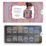 Moyou London Mandala 08 - Pretty Mandalas Palettes Large