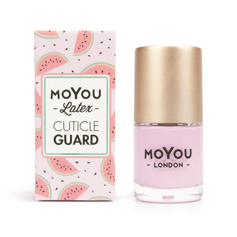 Moyou London / Latex Cuticle Guard Watermelon