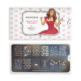 princess 11 lovely palettes large moyou stapming plate