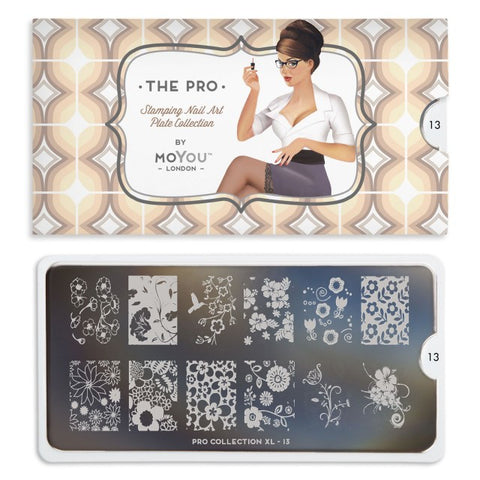 Moyou London Pro XL 13 - Wildflowers Palettes Large