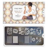 Moyou London Nail Art Stamping Pro XL 15 Plate