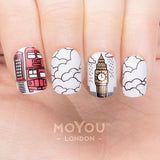 Daily Charme Moyou London Nail Art Stamping Plate / Scandi 04