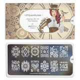 Moyou London Nail Art Stamping Steampunk 03 Plate