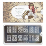 Moyou London Nail Art Stamping Steampunk 07 Plate