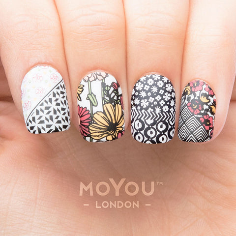 Daily Charme Nail Art Stamping Moyou London Trend Hunter 06