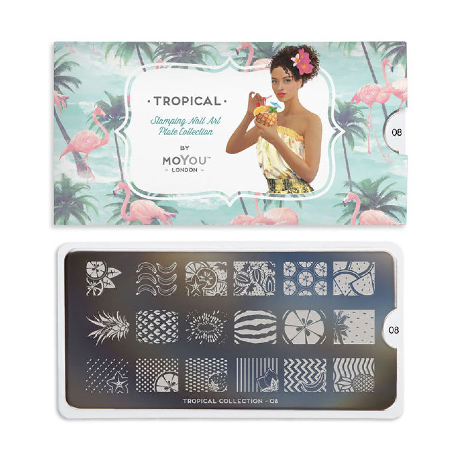 Tropical 08 - Fruit Palettes Small