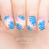 Daily Charme Nail Supply Nail Art Moyou London Stamping plate Tropical 29