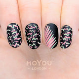 Daily Charme Nail Supply Nail Art Moyou London Stamping plate Tropical 27