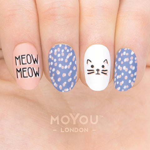 Daily Charme Nail Art Stamping Moyou London Animal 15