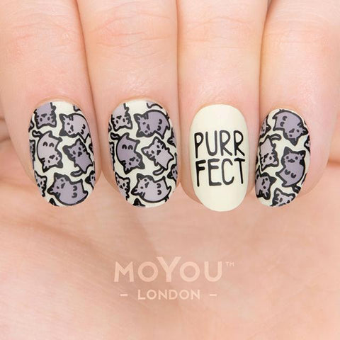 Daily Charme Nail Art Stamping Moyou London Animal 14