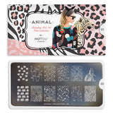 Daily Charme Nail Art Stamping Moyou London Animal 03