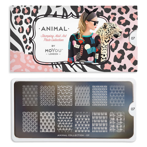 Daily Charme Nail Art Stamping Moyou London Animal 07