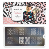 Daily Charme Nail Art Stamping Moyou London Animal 11