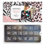 Daily Charme Nail Art Stamping Moyou London Animal 12