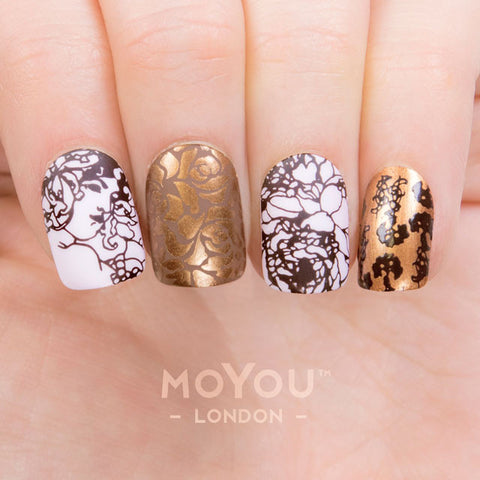Daily Charme Nail Art Stamping Plate Image MoYou Artist Collection 27