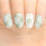 Daily Charme Moyou London Nail Art Stamping Plate Crystal 05